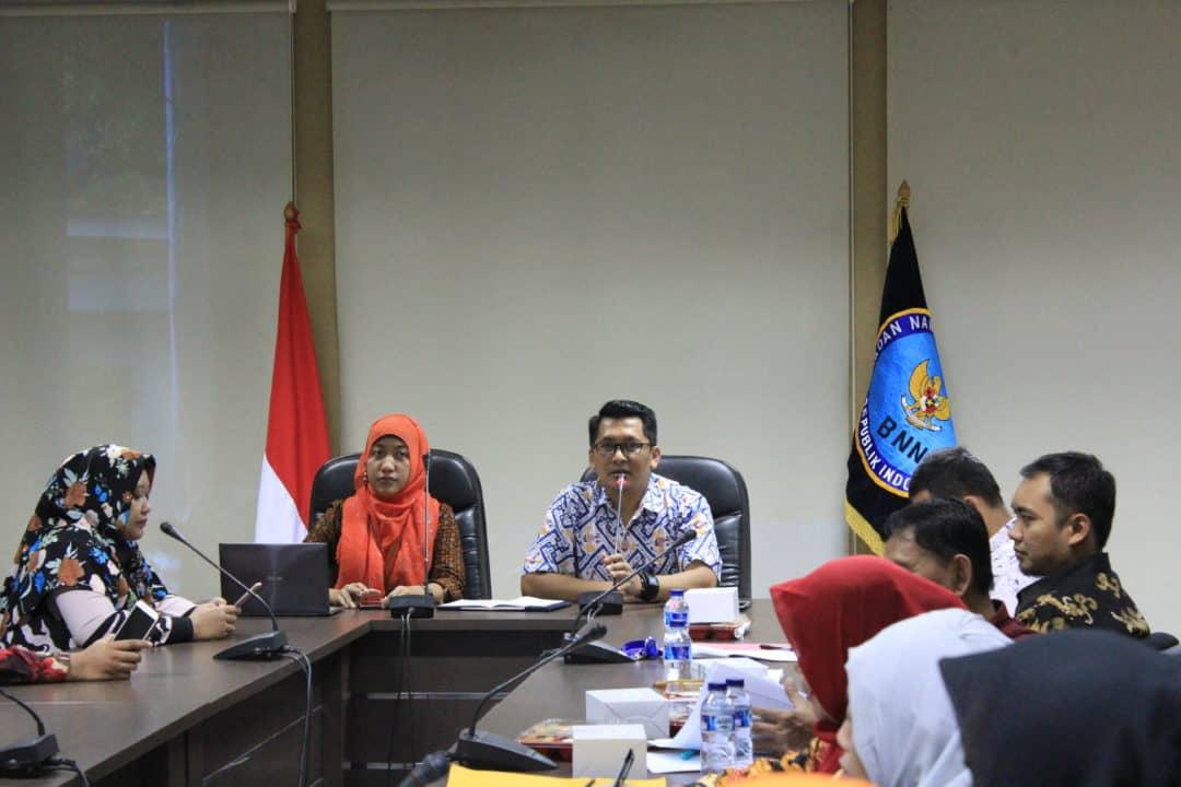 Pengisian DAINAP Triwulan IV Sebagai Bentuk Komitmen Pemerintah Indonesia Ikut Berpartisipasi Menangani Permasalahan Narkoba di Asia Pasific