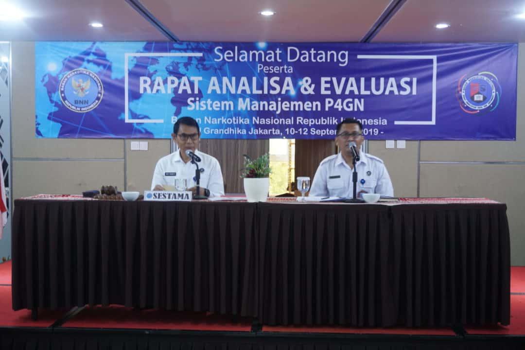 Rapat Analisa dan Evaluasi Sistem Manajemen P4GN Tahun 2019